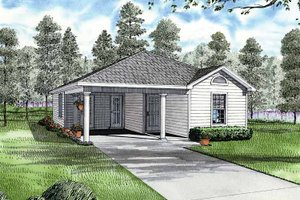 House Plan Design - Ranch Exterior - Front Elevation Plan #17-2809