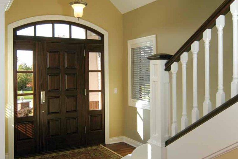 Traditional Interior - Entry Plan #928-222 - Houseplans.com