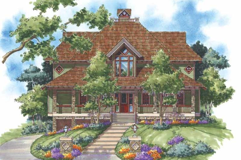 Craftsman Exterior - Front Elevation Plan #930-138 - Houseplans.com