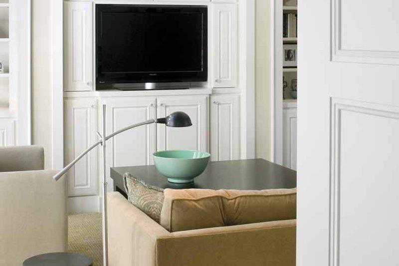 European Interior - Family Room Plan #928-40 - Houseplans.com