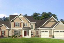 Home Plan - Traditional Exterior - Front Elevation Plan #1010-97