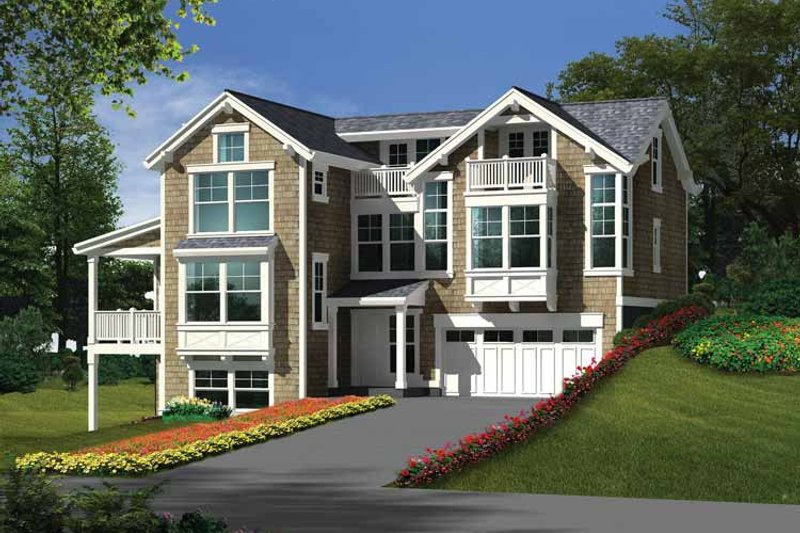Home Plan - Craftsman Exterior - Front Elevation Plan #132-276