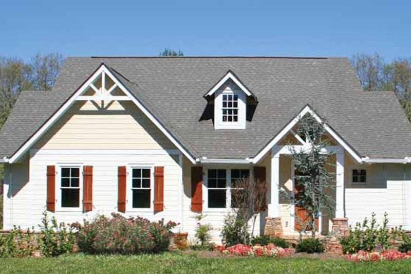 Home Plan - Craftsman Exterior - Front Elevation Plan #54-337