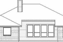 Dream House Plan - Traditional Exterior - Rear Elevation Plan #84-128