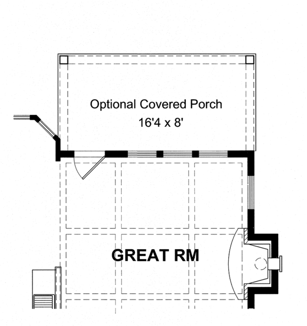 Traditional Floor Plan - Other Floor Plan Plan #316-275