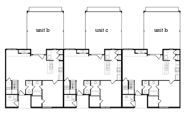 Traditional Floor Plan - Main Floor Plan Plan #45-452