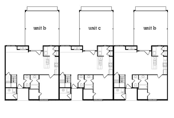 Dream House Plan - Traditional Floor Plan - Main Floor Plan #45-452