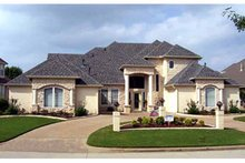 Home Plan - Mediterranean Exterior - Front Elevation Plan #84-713