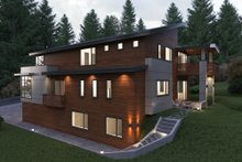 Dream House Plan - Contemporary Exterior - Other Elevation Plan #1066-38
