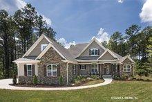 House Plan Design - Craftsman Exterior - Front Elevation Plan #929-949