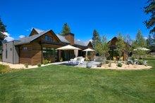 House Plan Design - Contemporary Exterior - Rear Elevation Plan #892-21