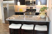 Craftsman Style House Plan - 4 Beds 3.5 Baths 2506 Sq/Ft Plan #20-2325 Interior - Kitchen
