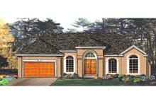Dream House Plan - European Exterior - Front Elevation Plan #3-148