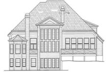 House Design - Traditional Exterior - Rear Elevation Plan #119-115