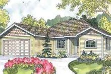 Dream House Plan - Ranch Exterior - Front Elevation Plan #124-548