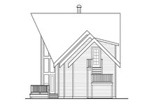Home Plan - Contemporary Exterior - Other Elevation Plan #124-874