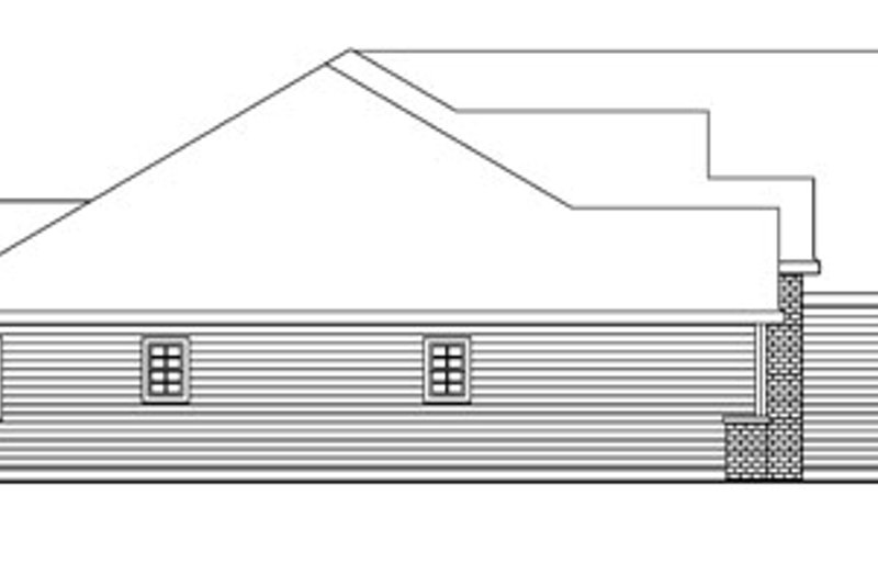 European Exterior - Other Elevation Plan #124-741 - Houseplans.com