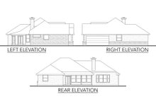 Dream House Plan - Traditional Exterior - Other Elevation Plan #80-116