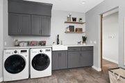Farmhouse Style House Plan - 3 Beds 2.5 Baths 2878 Sq/Ft Plan #1070-10 Interior - Laundry