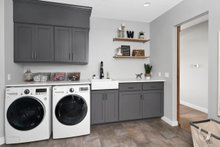 Farmhouse Interior - Laundry Plan #1070-10