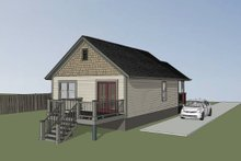Dream House Plan - Craftsman Exterior - Other Elevation Plan #79-101