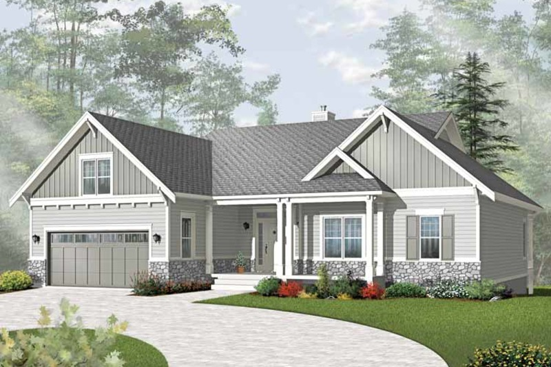 Traditional Exterior - Front Elevation Plan #23-2534