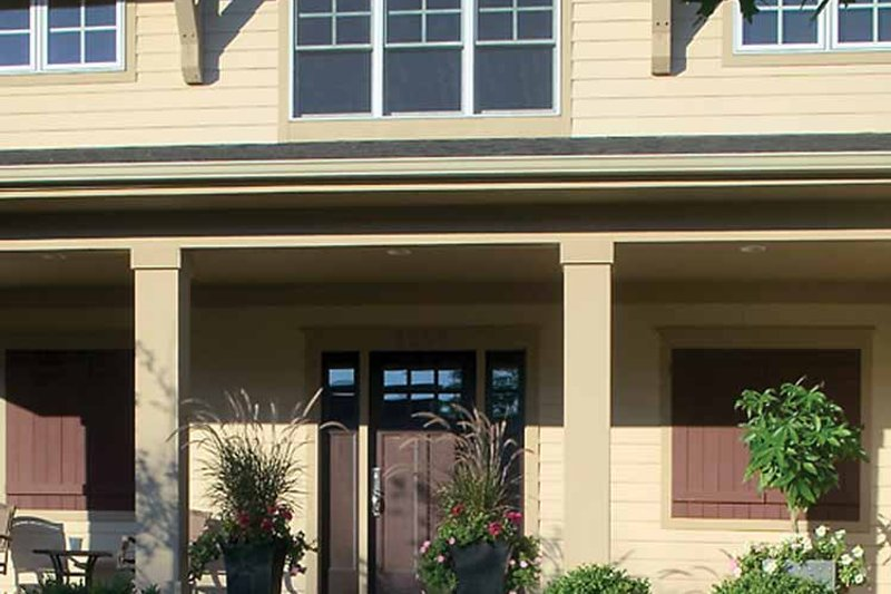 Craftsman Exterior - Front Elevation Plan #928-186 - Houseplans.com