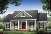 Colonial Style House Plan - 3 Beds 2.5 Baths 1951 Sq/Ft Plan #21-431 Exterior - Front Elevation