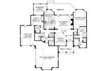 Craftsman Floor Plan - Main Floor Plan Plan #413-115