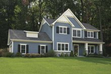 House Plan Design - Country Exterior - Front Elevation Plan #928-127
