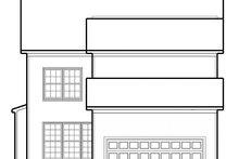 Colonial Exterior - Rear Elevation Plan #1053-73