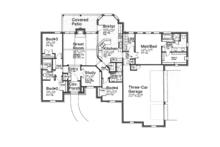European Floor Plan - Main Floor Plan Plan #310-1257