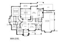 Craftsman Floor Plan - Main Floor Plan Plan #920-31