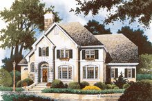 Home Plan Design - Country Exterior - Front Elevation Plan #429-360