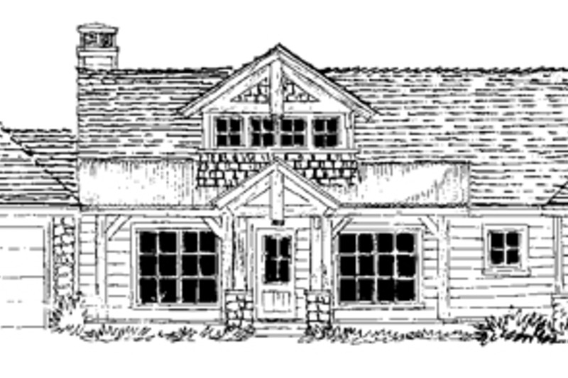 Country Exterior - Front Elevation Plan #942-24 - Houseplans.com