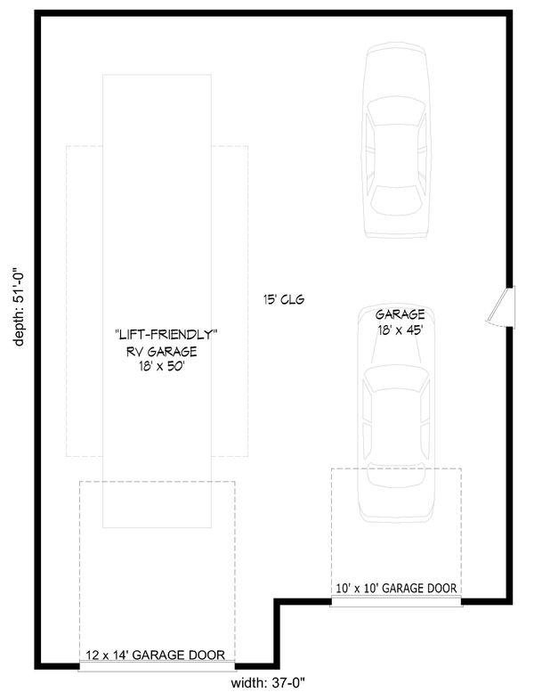 Mediterranean Floor Plan - Main Floor Plan Plan #932-208