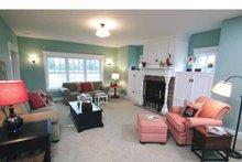 Craftsman Interior - Family Room Plan #928-39