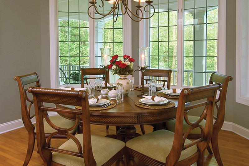 Country Interior - Dining Room Plan #930-111 - Houseplans.com