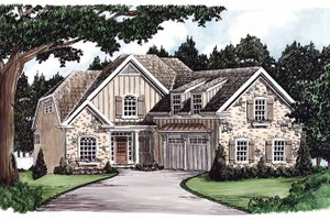 House Plan Design - Colonial Exterior - Front Elevation Plan #927-588