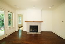 Tudor Interior - Family Room Plan #54-399