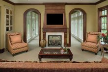 Architectural House Design - Classical Interior - Family Room Plan #928-55