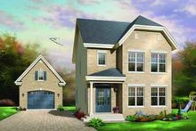 Dream House Plan - Traditional Exterior - Front Elevation Plan #23-555