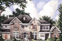 Country Exterior - Front Elevation Plan #952-192