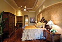 Mediterranean Interior - Master Bedroom Plan #930-440