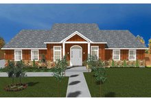 Home Plan - Ranch Exterior - Front Elevation Plan #1060-23