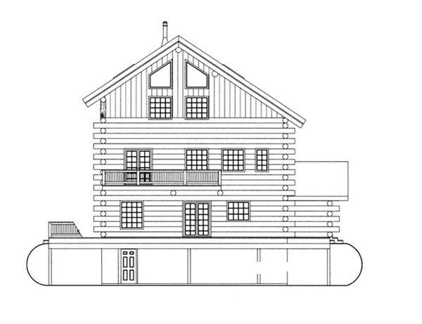 Log Floor Plan - Other Floor Plan Plan #117-825