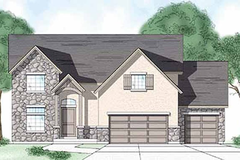 House Plan Design - Country Exterior - Front Elevation Plan #945-35