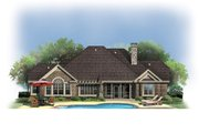 Craftsman Style House Plan - 4 Beds 3.5 Baths 3032 Sq/Ft Plan #929-908 Exterior - Rear Elevation