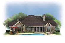 House Design - Craftsman Exterior - Rear Elevation Plan #929-908