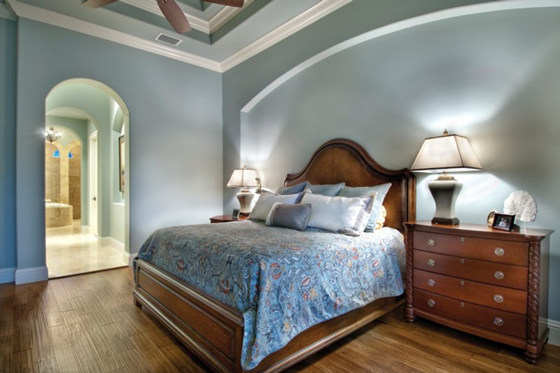 Mediterranean Interior - Master Bedroom Plan #930-446 - Houseplans.com